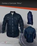 Camisola de mantenimiento con ventilación en espalda y hombros, ideal para lugares con altas temperaturas