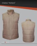 Chaleco con forro afelpado, cierre reforzado, ideal para climas fríos